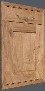 In-Frame Raised Panel – Oak