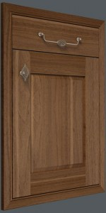 In-Frame Raised Panel – Walnut