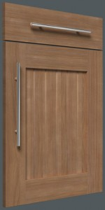Shaker V-Groove Centre Panel – Solid Cherry