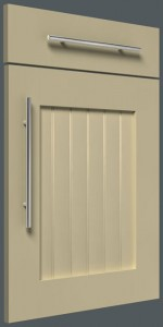 Shaker V-Groove Centre Panel – Painted Finish